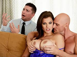 Married girl Peta Jensen dreams of a stranger's big cock