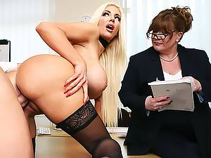 Nicolette Shea - Extreme strength test for tight juicy pussy