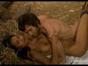Luscious Laura Gemser and Monica Zanchi in a steamy scene