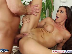Delightful Rilynn Rae hankering the big dick next door